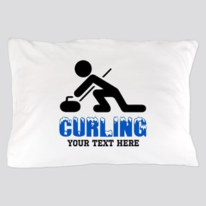Curling Personalized Pillow Case